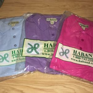 Other - Lot of 3 Men's Polo Short Sleeve Shirts Size Mediu